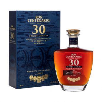Centenario 30 Edicion Limitada Ron Sistema Solera 70cl
