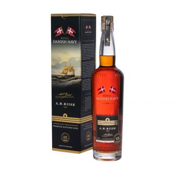 A.H. Riise Royal Danish Navy Rum 70cl