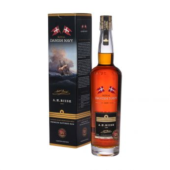 A.H. Riise Royal Danish Navy Strength Rum 70cl