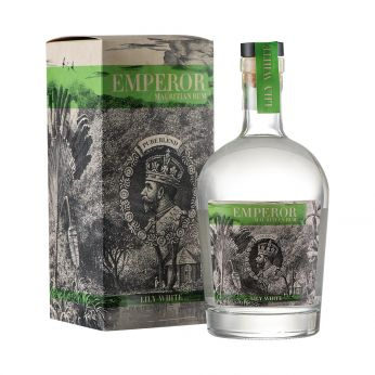 Emperor Lily White Mauritian Rum 70cl