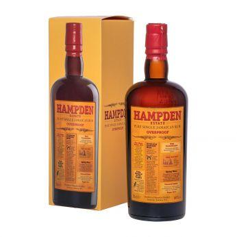 Hampden Estate Overproof Pure Single Jamaican Rum 70cl