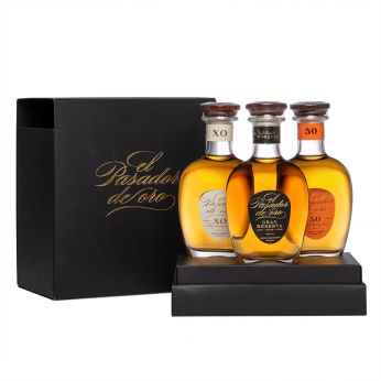 El Pasador de Oro Rum Set 50, Gran Reserva, XO 3x20cl