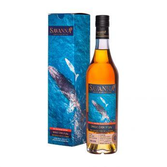 Savanna 2012 6 ans Cask#984 Baleine The Wild Island Edition Rhum Agricole Vieux 50cl