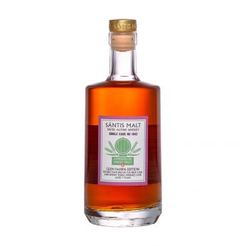 Säntis Malt 7y Single Cask #1042 Sherry PX Finish Glen Fahrn Edition Swiss Alpine Whisky 50cl