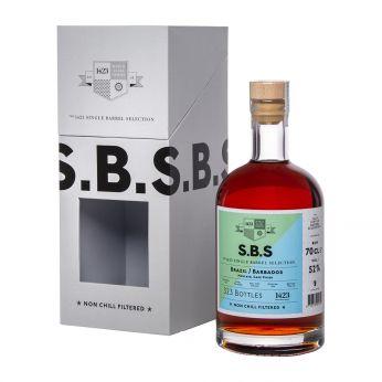 Brazil-Barbados bot.2019 S.B.S 1423 70cl