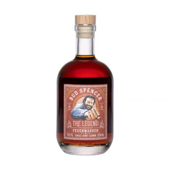 Bud Spencer The Legend Feuerwasser St.Kilian Chili Zimt Whisky Liqueur 70cl