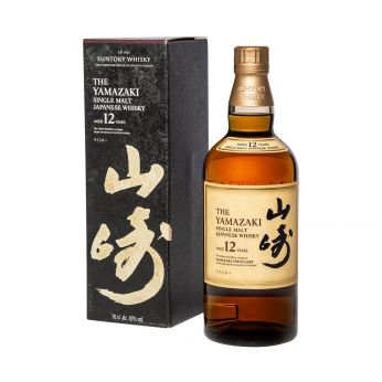 Suntory Yamazaki 12y Single Malt Japanese Whisky 70cl