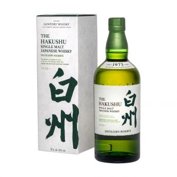 Suntory Hakushu Distiller`s Reserve Single Malt Japanese Whisky 70cl