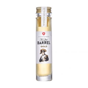 The Last Barrel Gold Miniature The Rumour of Switzerland 5cl
