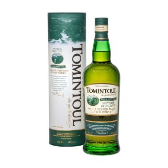 Tomintoul with a Peaty Tang Single Malt Scotch Whisky 70cl