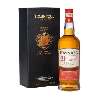 Tomintoul 21y Single Malt Scotch Whisky 70cl