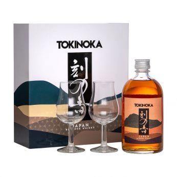 White Oak Tokinoka Geschenkpackung mit 2 Gläsern 50cl