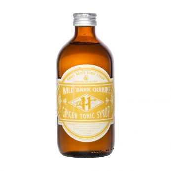 Wild Bark Quinine Ginger Tonic Syrup 50cl