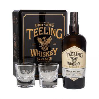 Teeling Geschenkpackung 2019 Small Batch Rum Cask mit 2 Gläsern 70cl