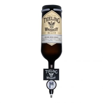 Teeling Small Batch Rum Cask Optic Bottle mit Aufhängung Blended Irish Whiskey 500cl