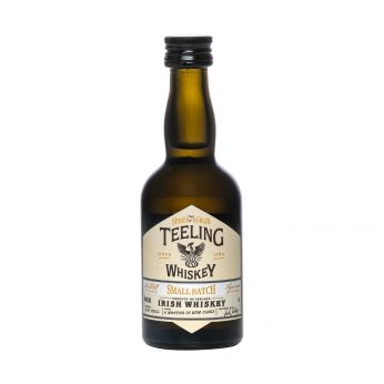 Teeling Small Batch Rum Cask Miniature Blended Irish Whiskey 5cl