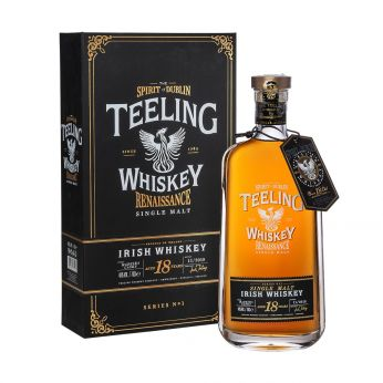 Teeling 18y Renaissance Series No.1 Madeira Cask Finish Single Malt Irish Whiskey 70cl