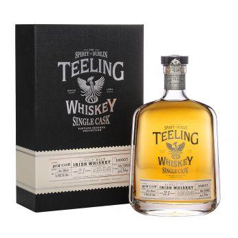 Teeling 21y Cask#100057 Glen Fahrn 15th Anniversary Bottling Single Malt Irish Whiskey 70cl