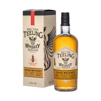 Teeling Plantation Stiggins Pineapple Rum Cask Small Batch Collaboration Blended Irish Whiskey 70cl