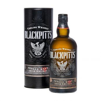 Teeling Blackpitts Peated Single Malt Irish Whiskey 70cl