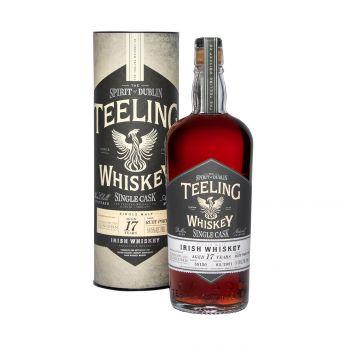 Teeling 2003 17y Cask#55120 Ruby Port Cask Finish Glen Fahrn 15th Anniversary Bottling 70cl