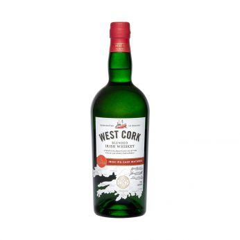 West Cork Irish IPA Cask Matured Blended Irish Whiskey 70cl