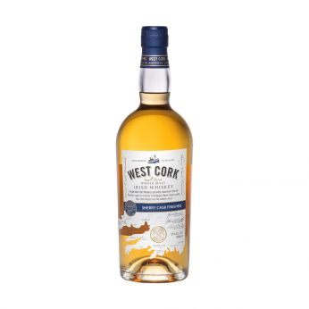 West Cork Sherry Cask Finished Small Batch Single Malt Irish Whiskey 70cl