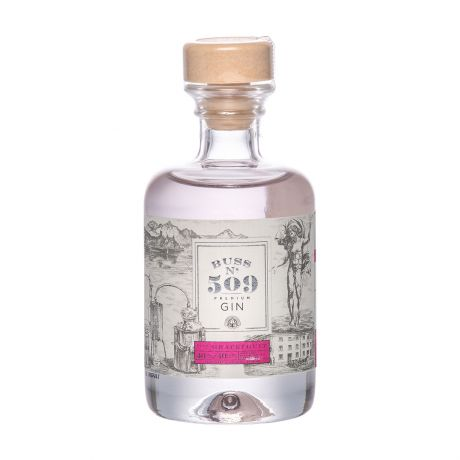 Buss No.509 Pink Grapefruit Gin Author Collection Miniature 4cl