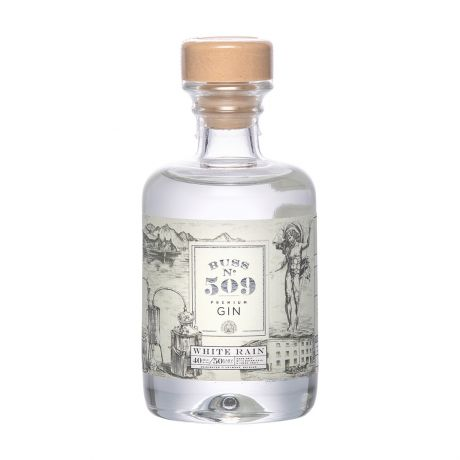 Buss No.509 White Rain Gin Author Collection Miniature 4cl