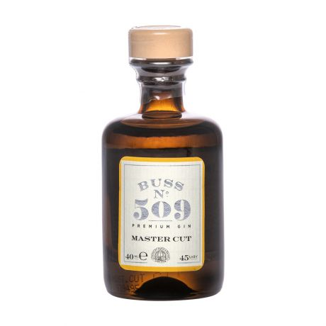 Buss No.509 Master Cut Gin Choice Cut Collection Miniature 4cl