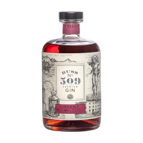 Buss No.509 Cherry Gin Author Collection 70cl