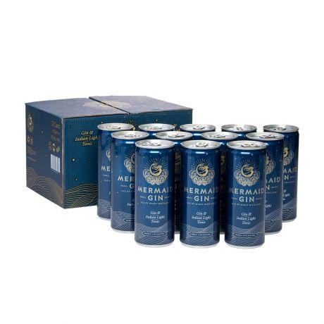Mermaid Gin & Tonic in Dose 12er Karton 12x250ml