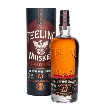Teeling 13y Bordeaux Red Wine Cask Finish Single Grain Irish Whiskey 70cl