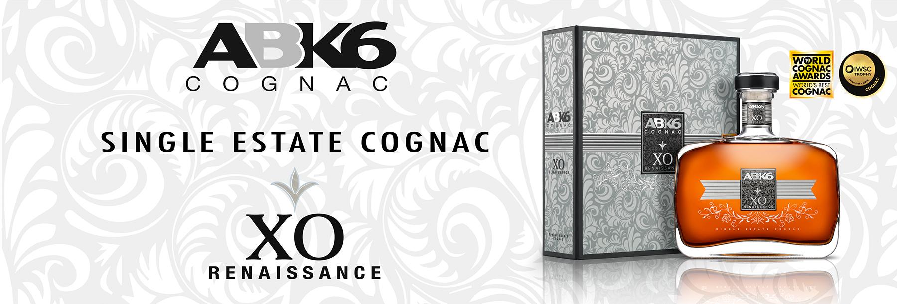 Abecassis ABK6 Renaissance Premium Decanter Single Estate Cognac