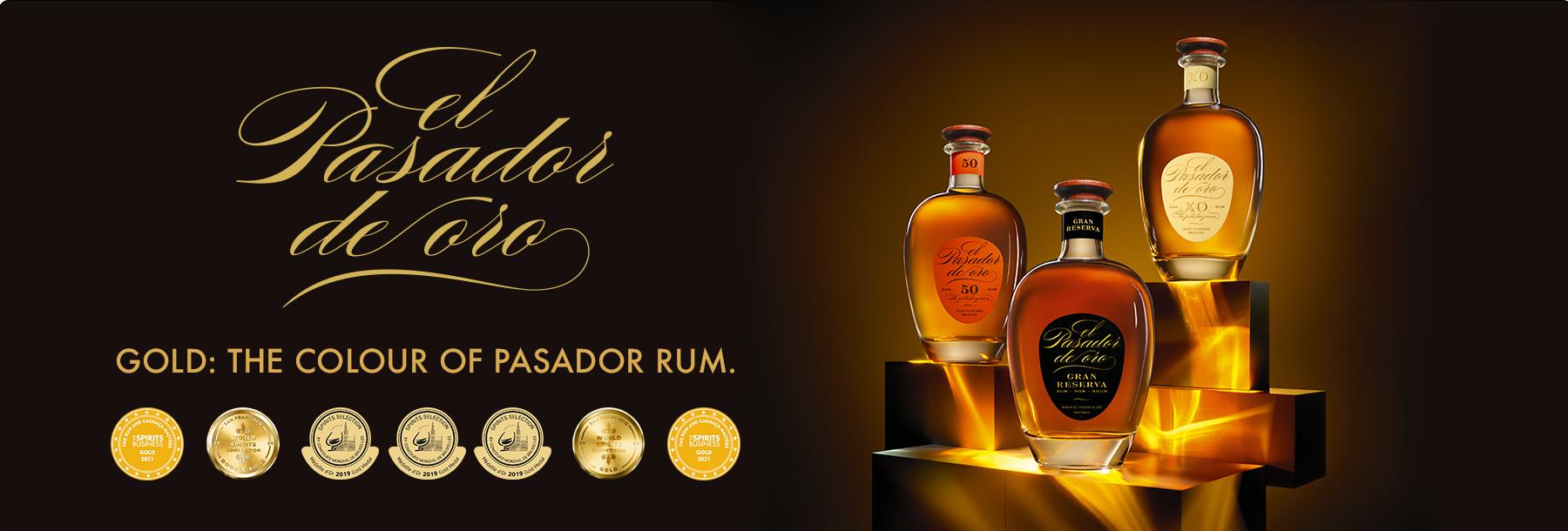 El Pasador de Oro Guatemala XO Extra Old Rum Ron de Guatemala