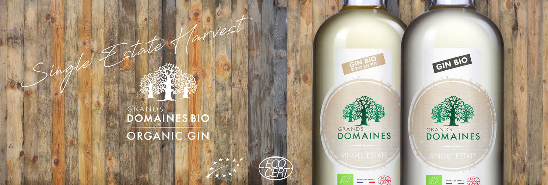 Grands Domaines Bio Gin Organic Single Estate Harvest