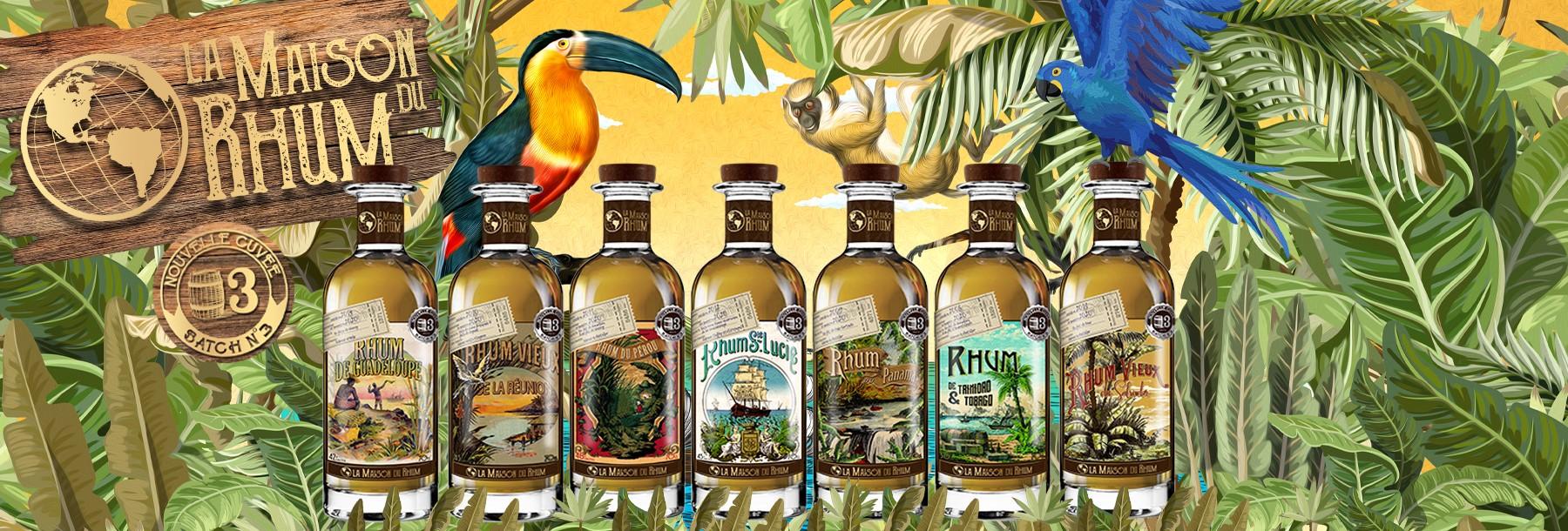 La Maison du Rhum Batch 3 Independent Bottling Rum