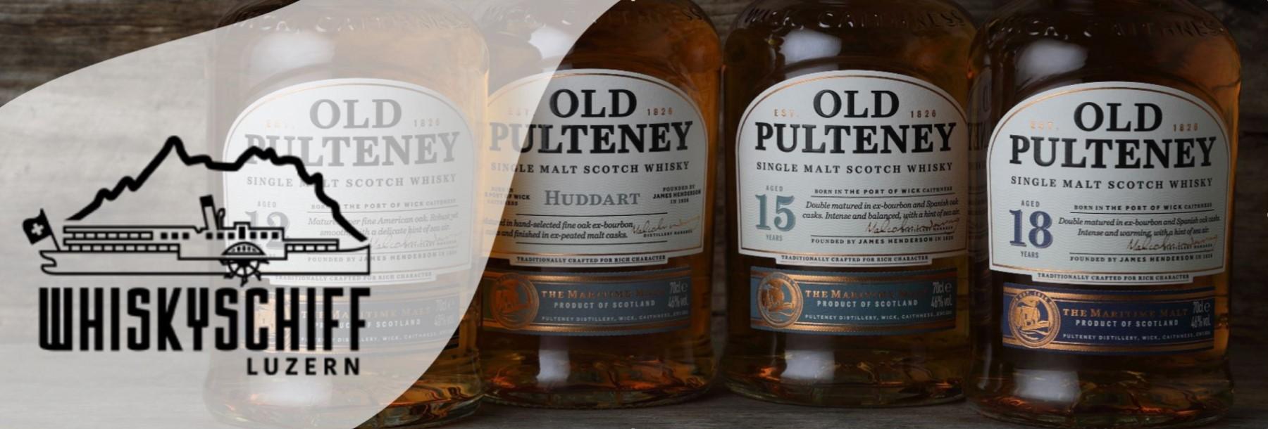 Whiskyschiff Luzern Old Pulteney Inverhouse Single Malts neue Glen Fahrn