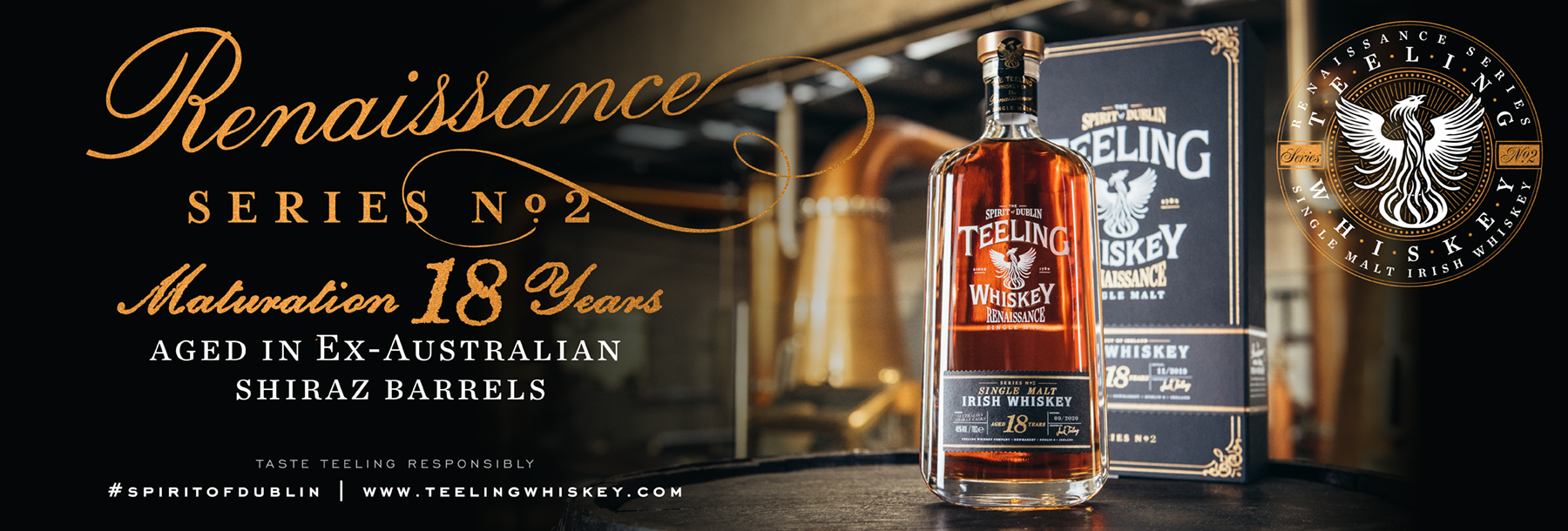 Teeling Renaissance 2 SIngle Malt Irish Whiskey Limited Edition