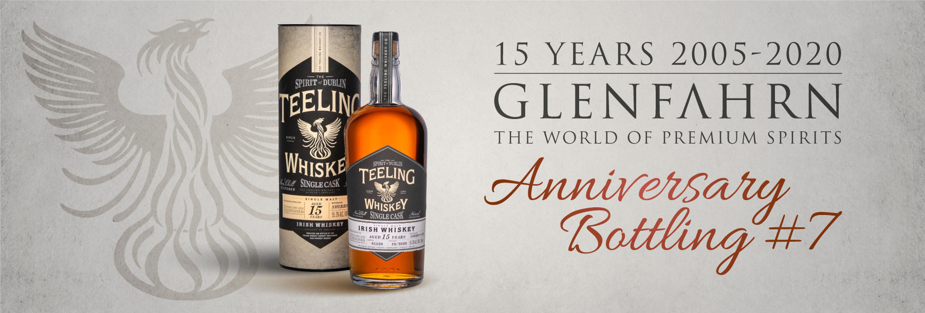 Teeling 15y Cask#61529 Glen Fahrn 15th Anniversary Bottling #7 Single Malt Irish Whiskey