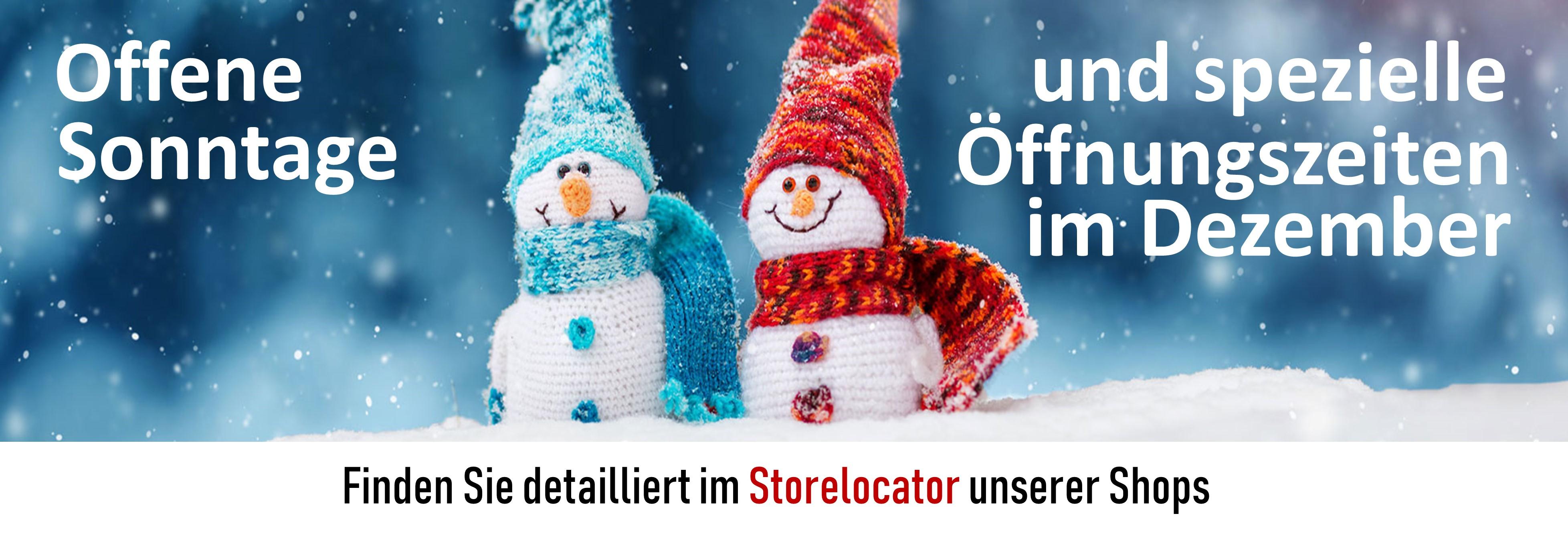 Offene Sonntage Weihnachten Glen Fahrn Shops