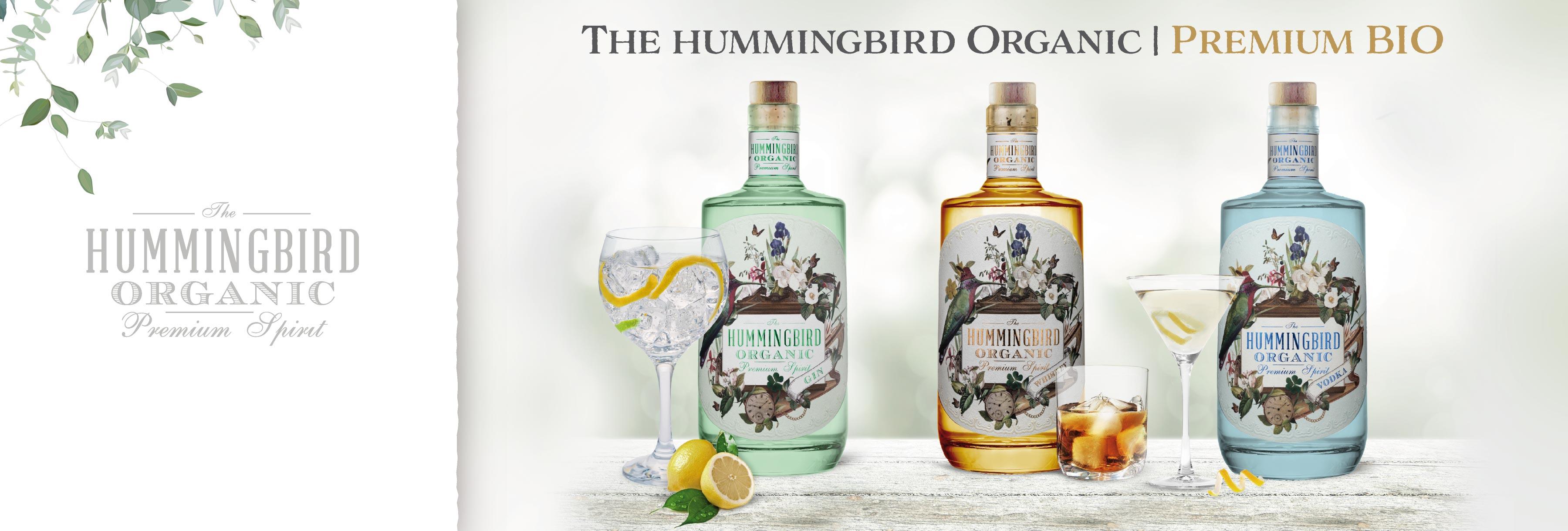 Hummingbird Gin Vodka Whiskey Organic Bio Irland West Cork Distillers
