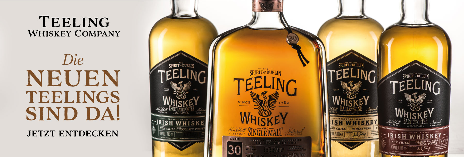 Teeling Whiskey Neuheiten 30yrs Beer Stout Porter